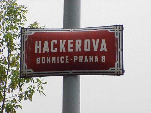 Hackerova - klikni  > další Fotka