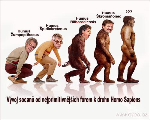 Evoluce - klikni  > další Fotka