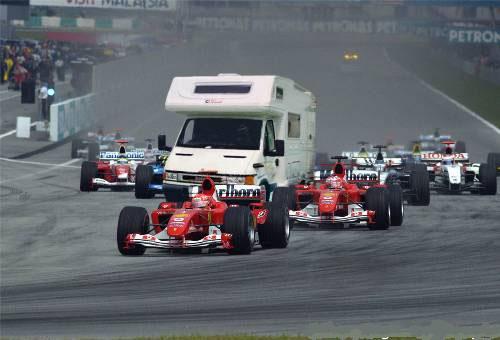 Česká F1 - klikni  > další Fotka