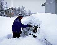 Sníh - klikni  > další Fotka